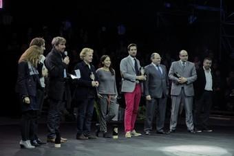 La maison Amboise recevant le prix Paris Capitale de la Création (c) Cécile Vrain