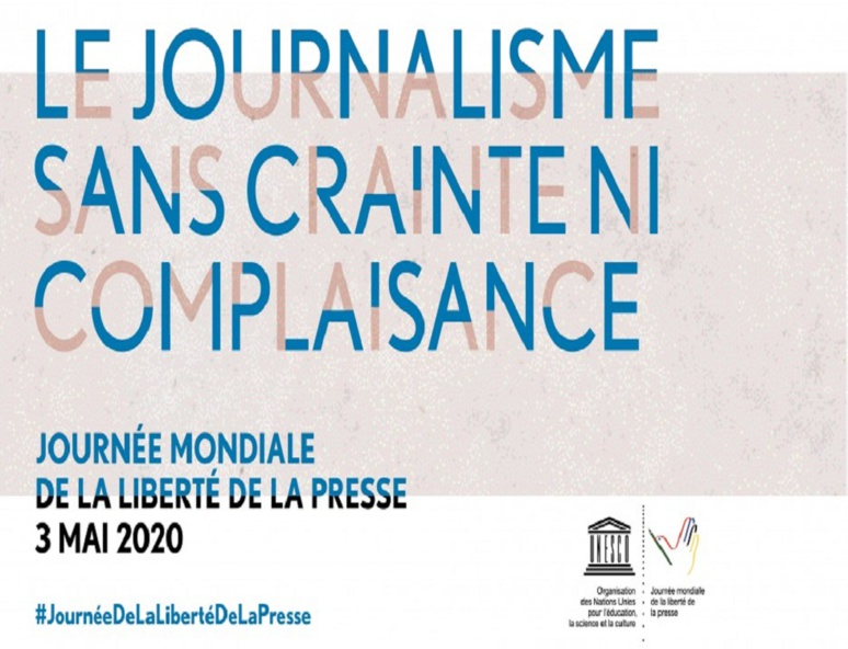 La pandémie de Covid-19 avec ses conséquences à terme met en lumière et amplifie les crises multiples qui menacent l'avenir du journalisme. (c) Unesco