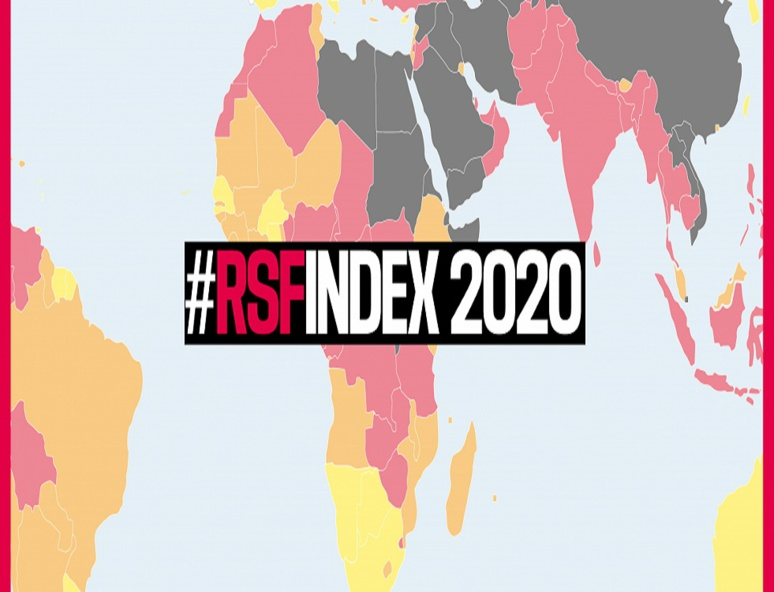 Pendant que certains pays font des efforts pour améliorer leur situation, d'autres par contre continuent de stagner en bons derniers du classement. (c) RSF
