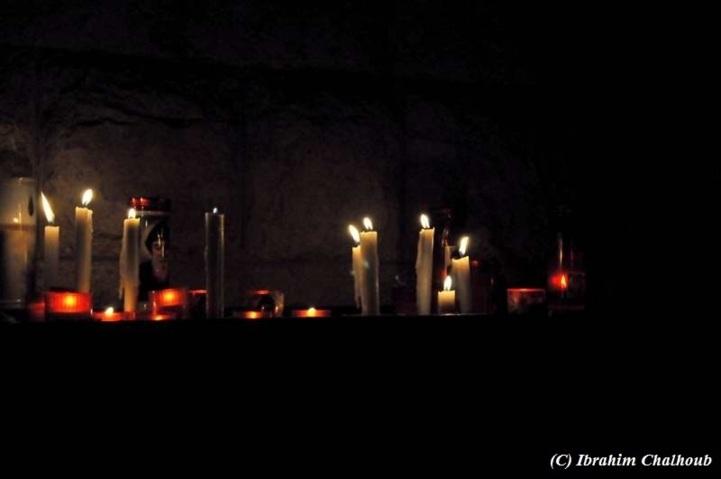 Et encore des bougies! Photo (C) Ibrahim Chalhoub