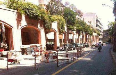 Zone travaux avenue de la Quarantaine. Photo (c) TP