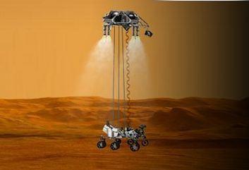 Suivez Curiosity et l'équipe de la NASA en direct, en cliquant sur l'image