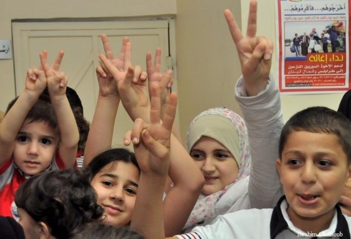 Réclamant la victoire! Photo (C) Ibrahim Chalhoub
