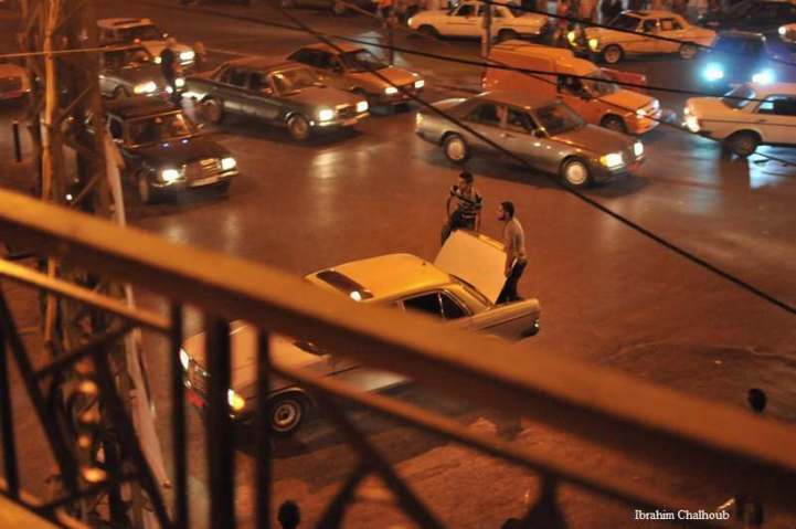 Blessé! Photo (C) Ibrahim Chalhoub