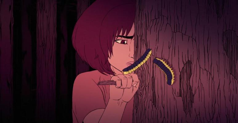 """""""MOM"""" est le premier court-métrage de Kajika Aki Ferrazzini, jeune dessinatrice réunionnaise passée par les Gobelins (c) DR"""