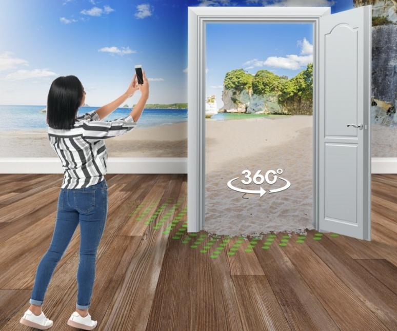 Kaviar Gate est une application créée en mars 2020 qui permet aux utilisateurs de voyager depuis leur salon (c) Michel Ruiz
