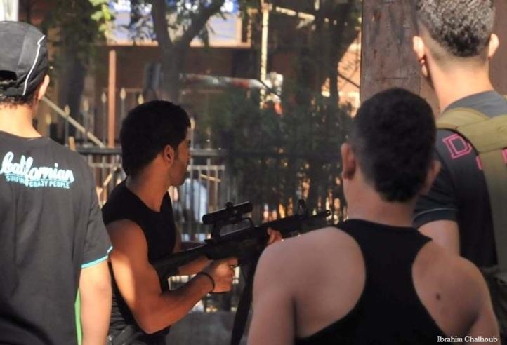 Combat futile! Photo (C) Ibrahim Chalhoub