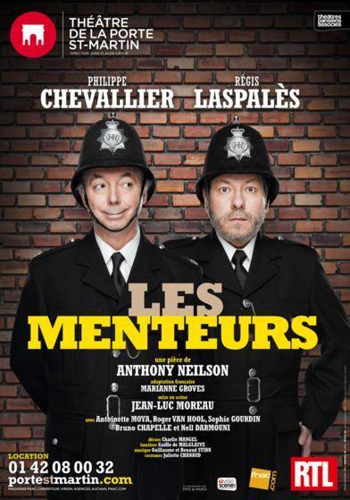 Chevallier et Laspalès, des grands Menteurs au Théâtre de la Porte Sain-Martin