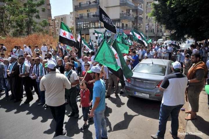 Unis pour leur cause! Photo (C) Ibrahim Chalhoub