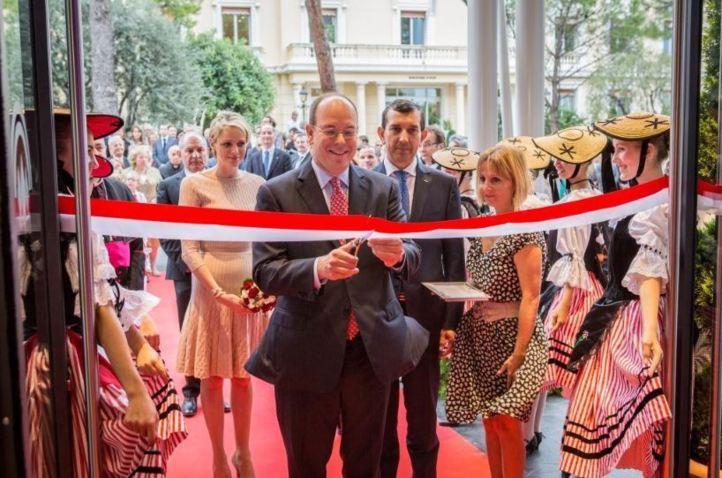 L'inauguration par le Prince Souverain. Photo (c) Realis/Conseil National