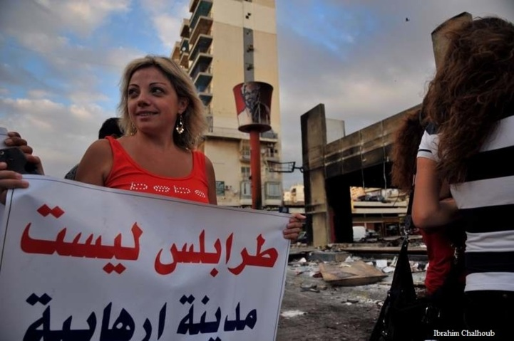 Tripoli n'est pas terroriste! Photo (C) Ibrahim Chalhoub