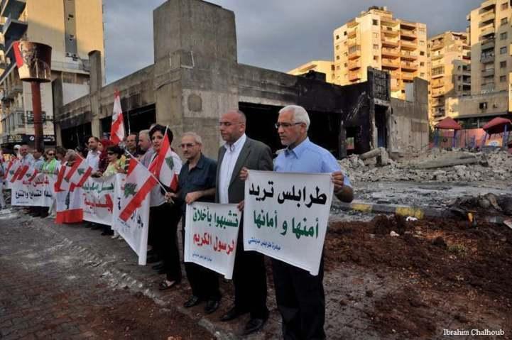 Tripoli cherche sa sécurité! Photo (C) Ibrahim Chalhoub