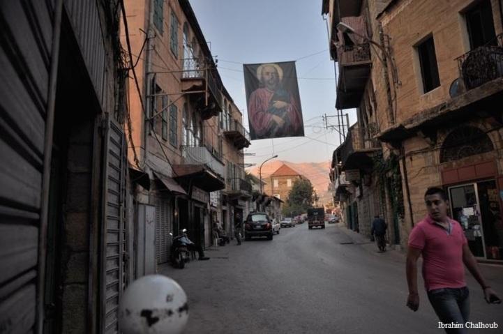 Le Saint du village! Photo (C) Ibrahim Chalhoub