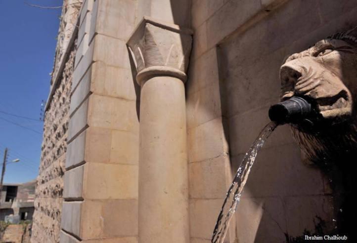 Eau et pouvoir! Photo (C) Ibrahim Chalhoub