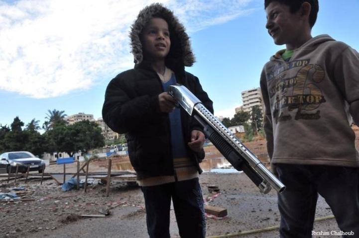 Et si ce n'était pas un jouet? Photo (C) Ibrahim Chalhoub