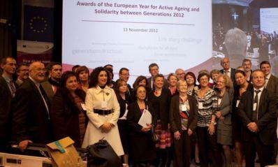Les lauréats 2012. Photo (c) CE