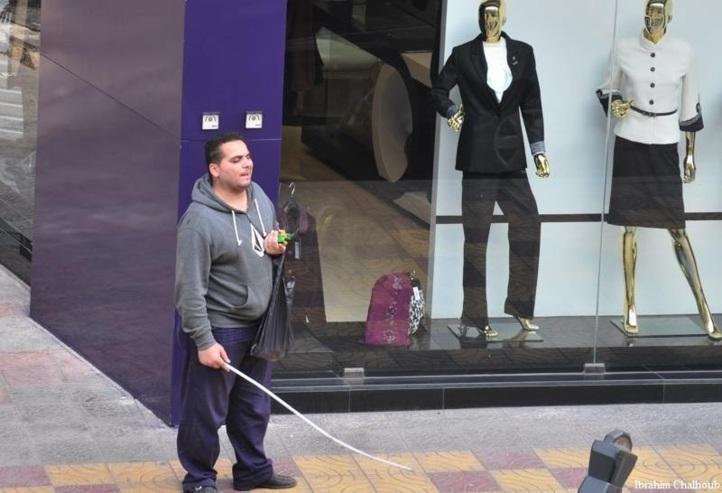 Un homme… un vrai! Photo (C) Ibrahim Chalhoub
