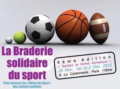 Vie associative - 1 Maillot Pour La Vie: 4e édition de La Braderie Solidaire du Sport