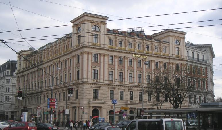 L'ancien palais Ephrussi à Vienne (c) DR