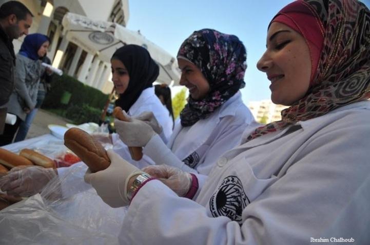 Manger sain! Photo (C) Ibrahim Chalhoub
