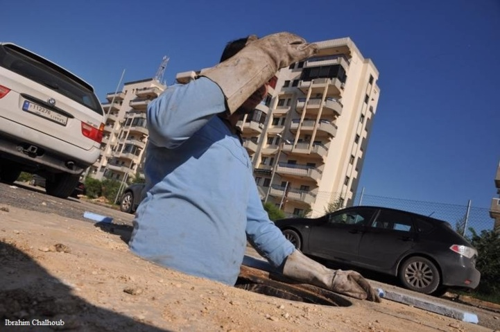 Précautions nécessaires! Photo (C) Ibrahim Chalhoub