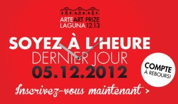 Derniers jours pour le 7e Prix International Arte Laguna