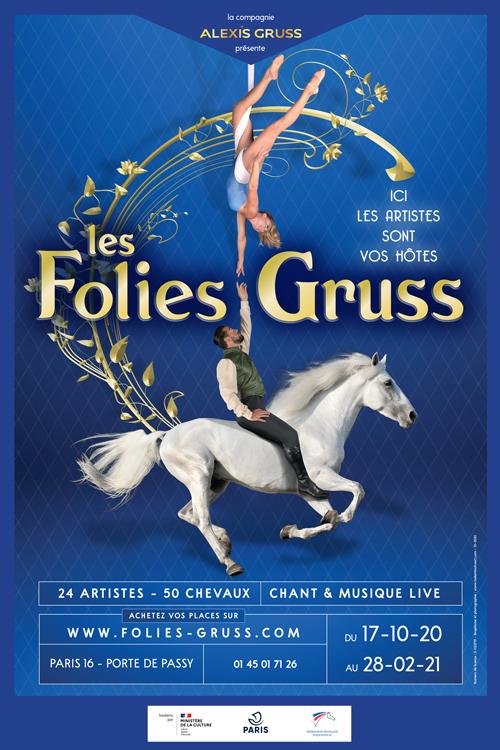 La Compagnie Alexis Gruss lance le spectacle parisien Les Folies Gruss tout l'hiver