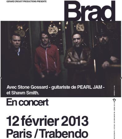 Brad, le groupe de Stone Gossard à Paris