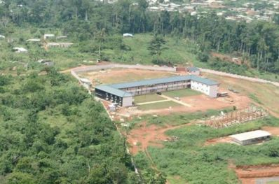 Vue aérienne du Campus Centre d'excellence technologique Paul Biya (Photo IAI)