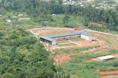 Vue aérienne du Campus Centre d'excellence technologique Paul Biya (Photo IAI)