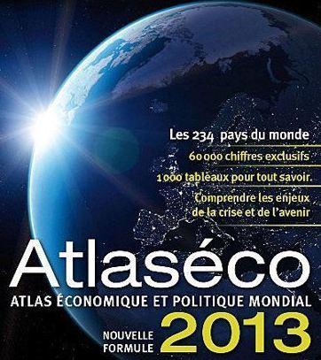 Cliquez sur l'image pour commander en ligne sur ce sujet l'Atlaséco du Nouvel Observateur