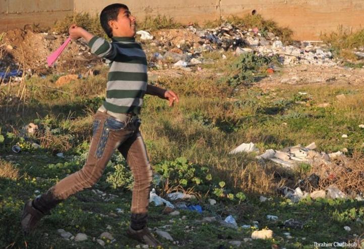 Quel jeu dangereux! Photo (C) Ibrahim Chalhoub