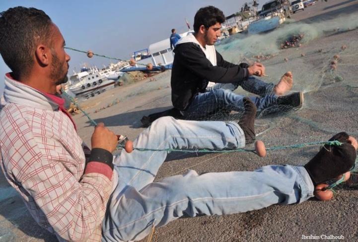 Avec les pieds! Photo (C) Ibrahim Chalhoub
