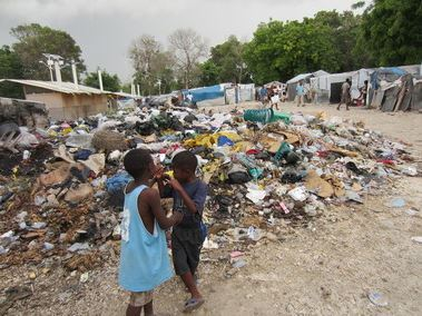 Le camp Grace Village, Port-au-Prince. Photo © Amnesty International