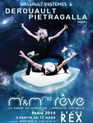 Marie Claude Pietragalla met la danse au coeur du virtuel dans son nouveau spectacle