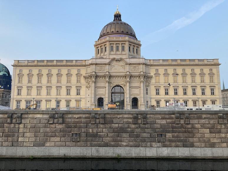 Le Forum Humboldt accueillera les collections du Musée ethnologique, celles du Musée d'art asiatique du musée de la ville de Berlin (c) Ernstol