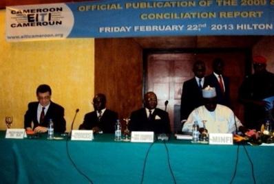 Panel MINFI Président du Comité de suivi ITIE. Photo (c) ETJ