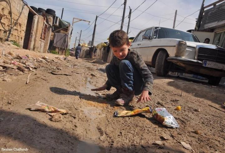 Enfant pauvre! Photo (C) Ibrahim Chalhoub