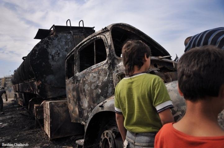 Ni mazout ni camion! Photo (C) Ibrahim Chalhoub