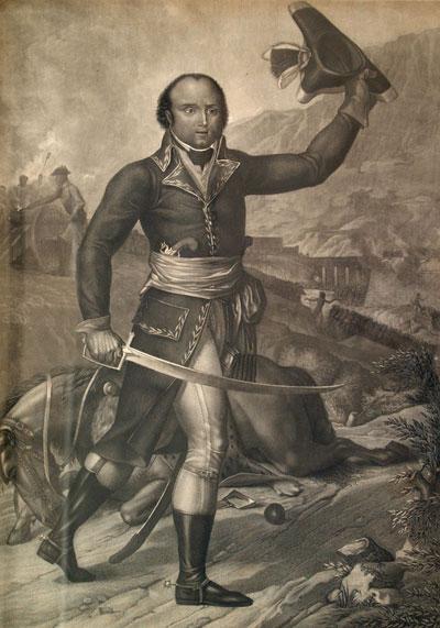 Le plus grand des Dumas (c) Le général Alexandre Davy de La Pailleterie, peinture (détail) d'Olivier Pichat, après 1883