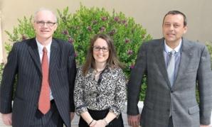 De gauche à droite: Daniel Cotta, Hélène Zaccabri et Jean-Yves Peglion. Photo courtoisie (c) DR
