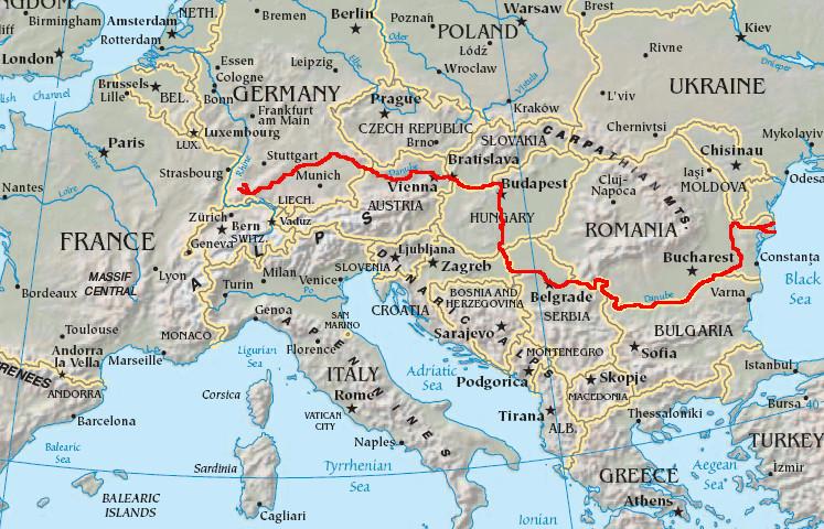 Un Danube navigable 300 jours par an, pour ou contre ? (c) DR