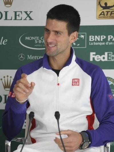 Novak Djokovic. Photo courtoisie (c) Realis