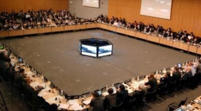 GAFI, réunion plénière en 2012. Photo © GAFI / OCDE. Cliquez ici pour accéder au site officiel