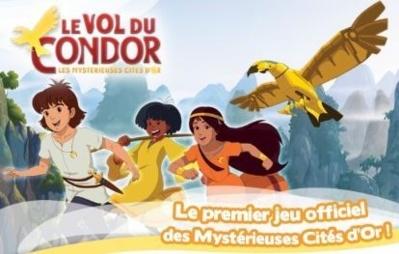 Cliquez ici pour commander Les Mystérieuses Cités d'Or