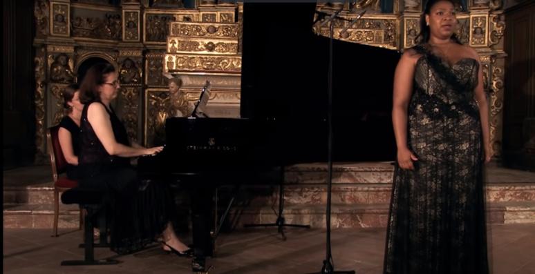 c'est la première fois que la récompense, de la Révélation lyrique est attribuée à un candidat, en l'occurrence une candidate, de l'Outre-mer. La soprano Marie-Laure Garnier est en effet  guyanaise (C) DR