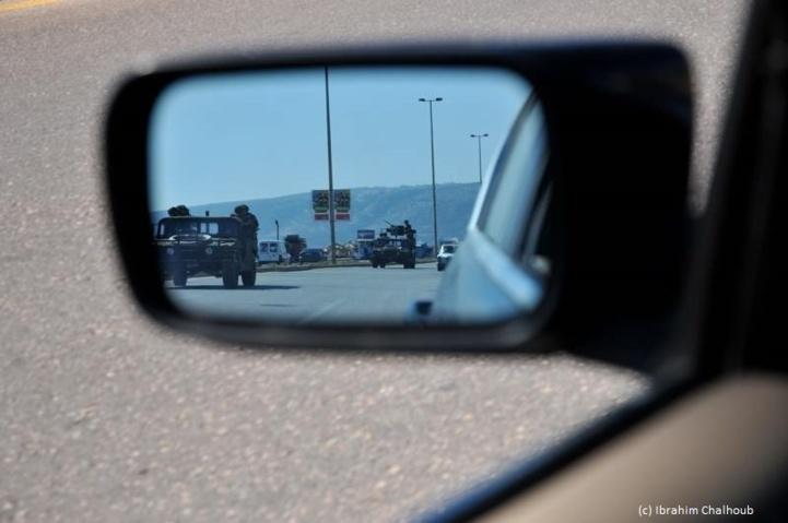 Mesures de sécurité! Photo (C) Ibrahim Chalhoub