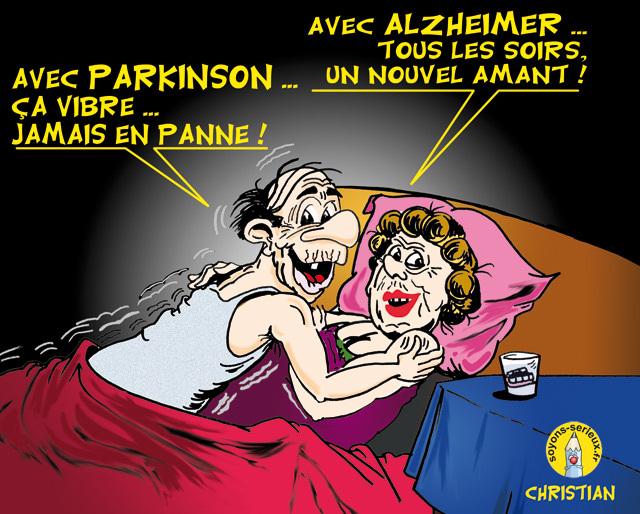 DESSIN DE PRESSE - Alzheimer: échec d'un traitement à l'essai...