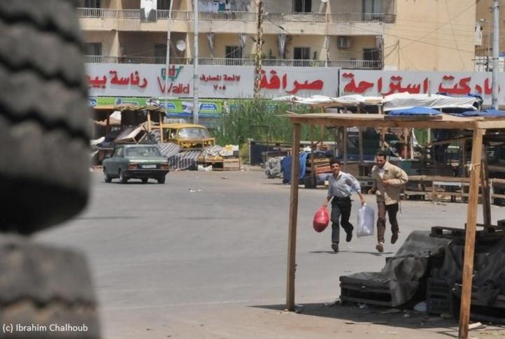 Attention, vous êtes visés! Photo (C) Ibrahim Chalhoub