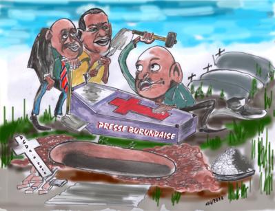 Le président du Burundi enterre la presse